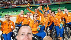 Barbara van Bergen Brons Paralympische Spelen Rio de Janeiro