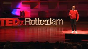 Willem Philipsen TEDx Rotterdam - How my broken brain made me reconnect to life